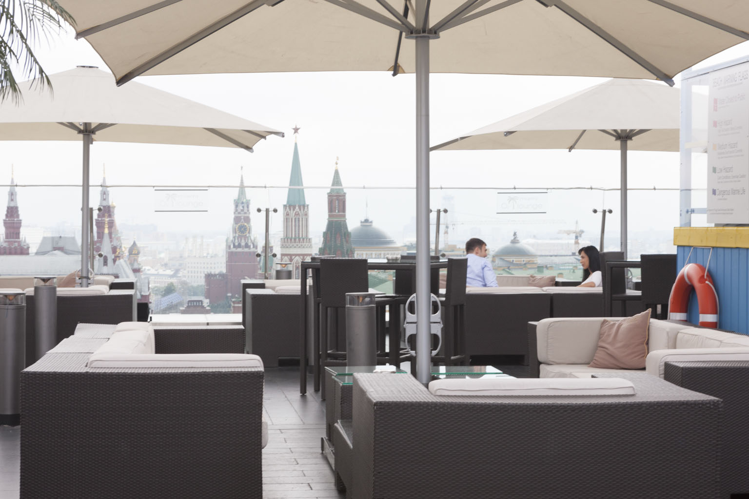 <b>Bar e Terrazza del Ritz Carlton Hotel:</b>