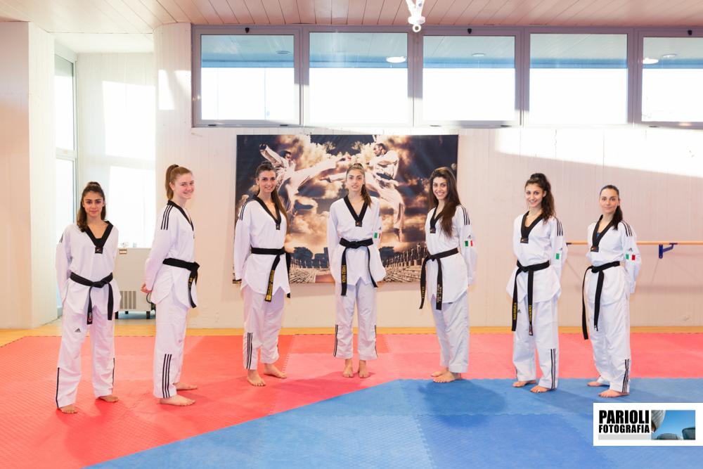Centro Sportivo Acqua Acetosa Roma.Nazionale Italiana Di Taekwondo Centro Sportivo Acqua