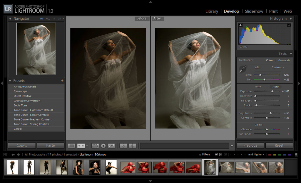 <b>CORSO BASE ONLINE LIGHTROOM</b>PARIOLI FOTOGRAFIA